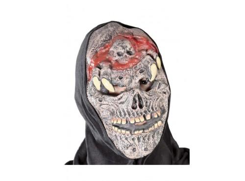Máscara de Monstruo con Araña Cadáver