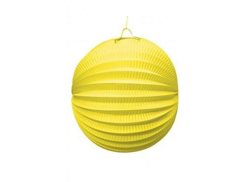 Farol Esférico de 26 cm. Amarillo