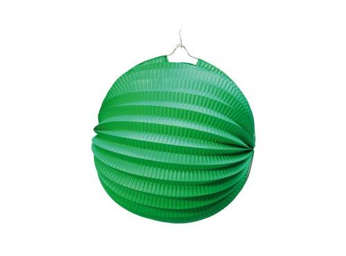 Farol Esférico de 26 cm. Verde