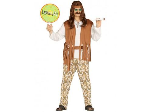 Disfraz de hippie liberal para hombre