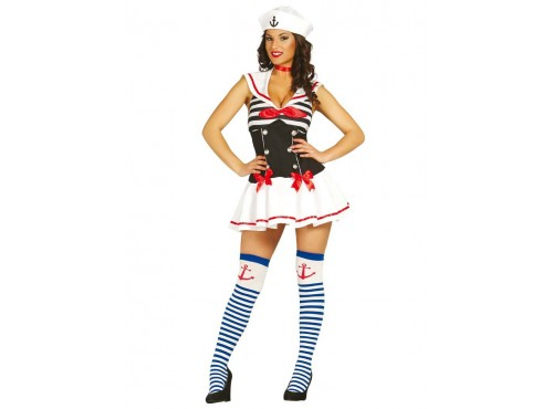 Disfraz de marinera seductora para mujer