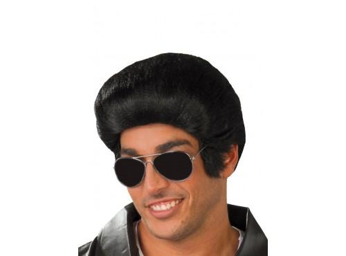 Peluca de Elvis roquero