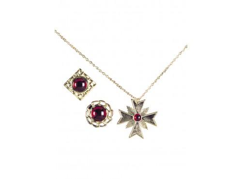 Medallón y anillos de Drácula