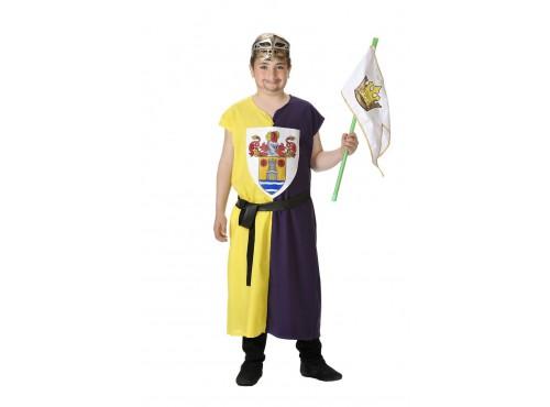 Disfraz de escudero para niño