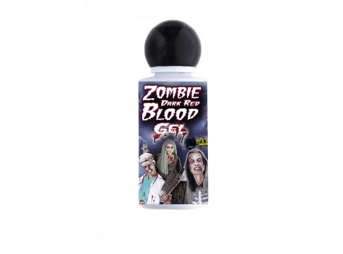 Sangre de zombie roja en gel