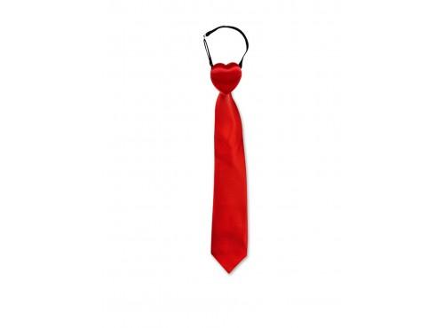 Corbata roja rompecorazones