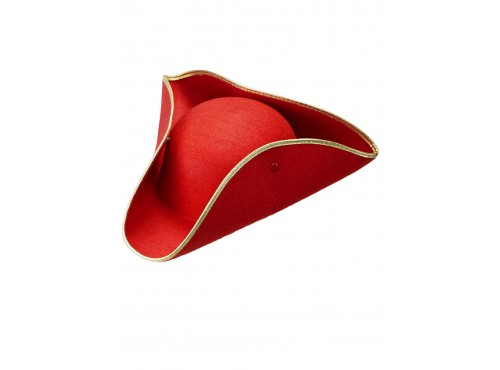 Tricornio rojo