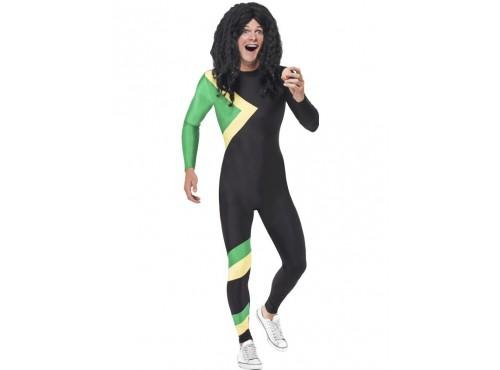 Disfraz de héroe jamaicano para hombre