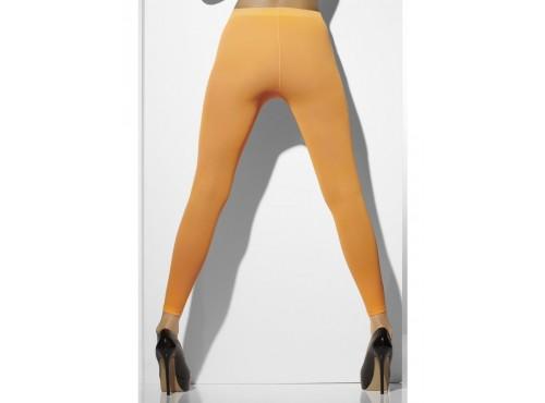 Leggings naranja neón