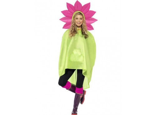 Party Poncho Flor