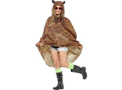 Party Poncho Tigre