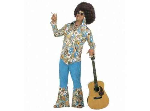 Disfraz de hippie para hombre talla grande