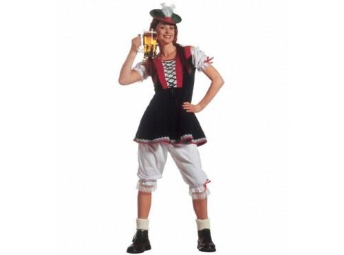 Disfraz de bávara tradicional para mujer