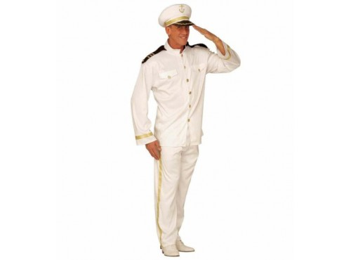 Disfraz de capitán de alta mar