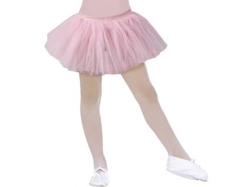 Tutú de bailarina rosa para niña