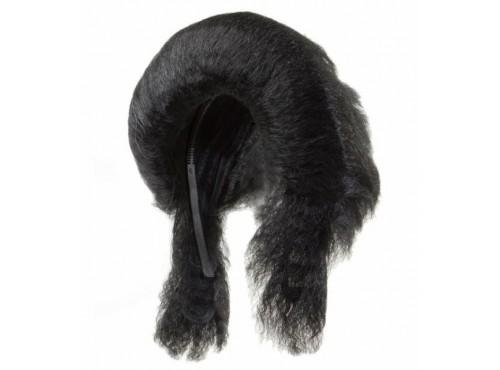 Peluca tupé negra del Rey del Rock