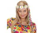 Diadema de margaritas hippie