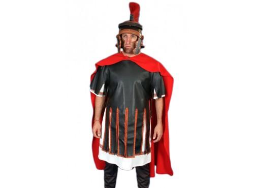 Capa medieval romana de soldado para hombre