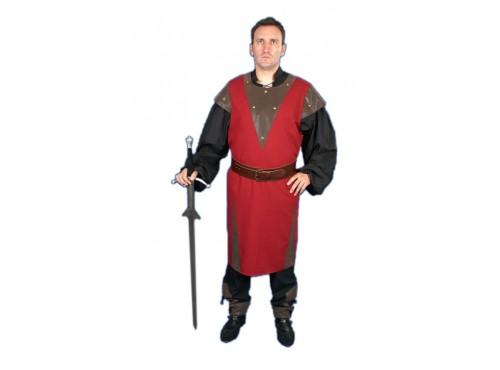Túnica medieval de Aragón para hombre