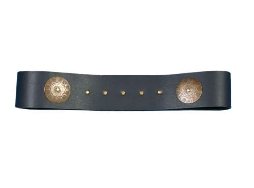 Cinturón medieval de cuero 120 cm