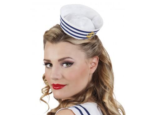 Mini sombrero de marinera para mujer