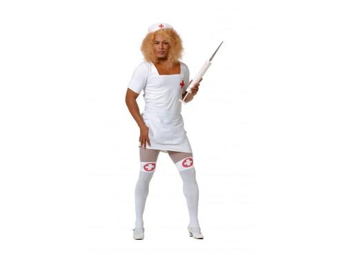 Disfraz de enfermera cachonda para hombre