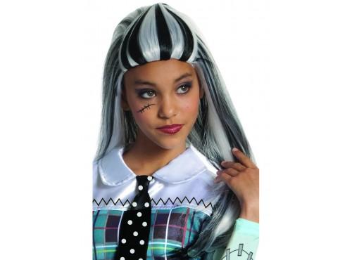 Peluca de Frankie Stein de Monster High