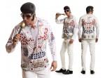 Camiseta Elvis Rey del rock n' roll para hombre