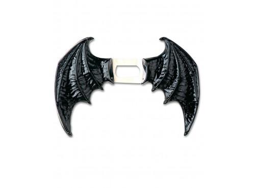 Maxi Alas negras de murciélago unisex