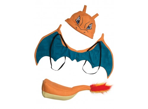 Kit disfraz Charizard Pokémon para niño