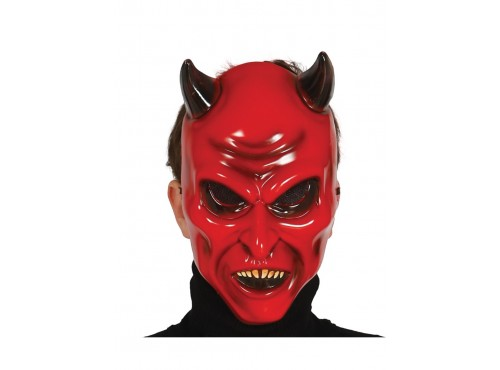 Máscara de diablo malévolo
