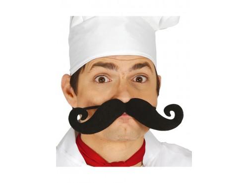 Bigote de cocinero elástico