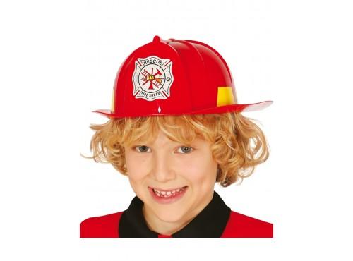 Casco de bombero valiente para niño