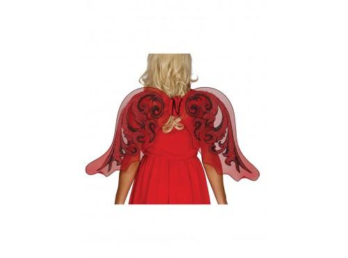 Alas rojas de ángel