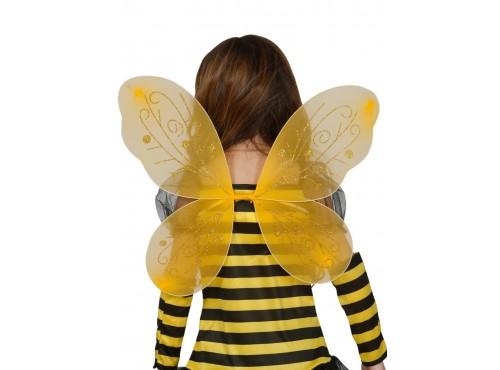 Alas de abejita amarilla para niña