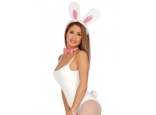 Kit disfraz de conejita sexy para mujer