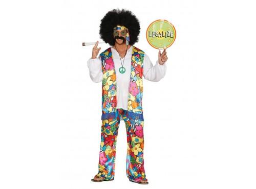 Disfraz de hippie libre para hombre