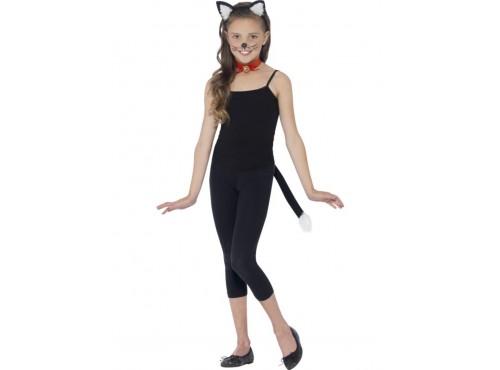 Kit disfraz de gatita para niña