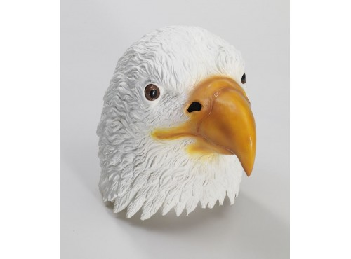 Máscara de águila americana de látex