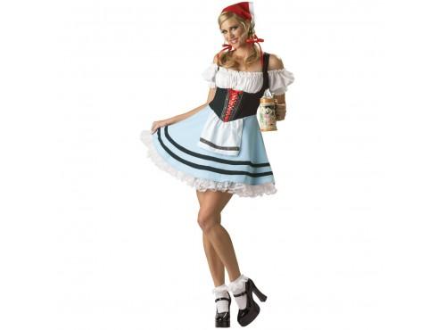 Disfraz de Tirolesa Gretel Élite