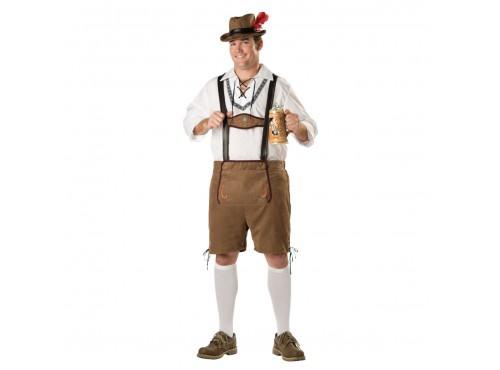 Disfraz de Tirolés Hansel Élite (Talla grande)