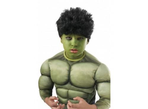 Peluca y set maquillaje Hulk Vengadores: La Era de Ultrón