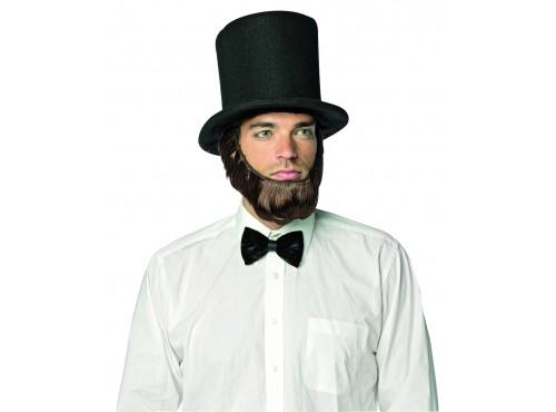 Sombrero con barba de Abraham Lincoln para hombre