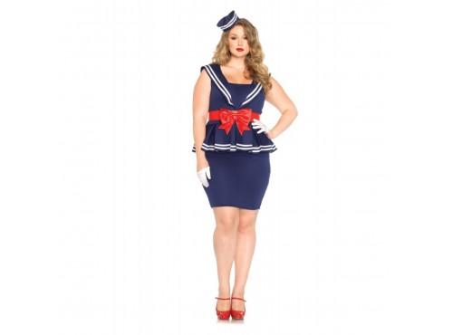 Disfraz de marinera provocativa para mujer