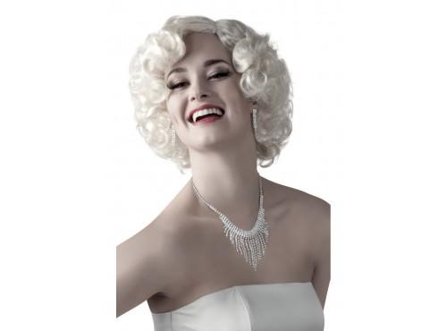 Set de pendientes y collar de Marilyn para adulto