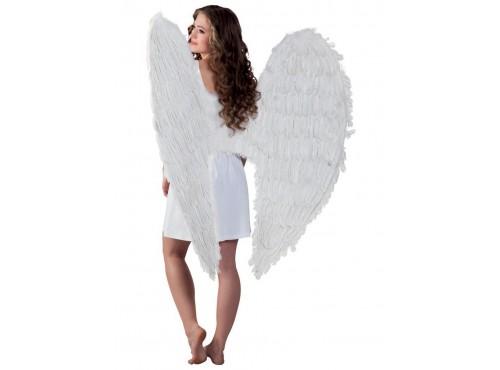 Maxi alas blancas de ángel para adulto