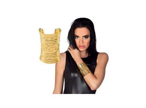 Pulsera dorada de egipcio para adulto
