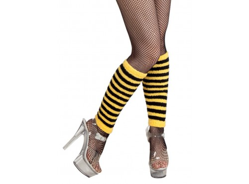 Calentadores de abeja cortos para mujer