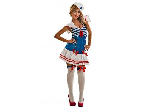 Disfraz de marinera sugerente para mujer