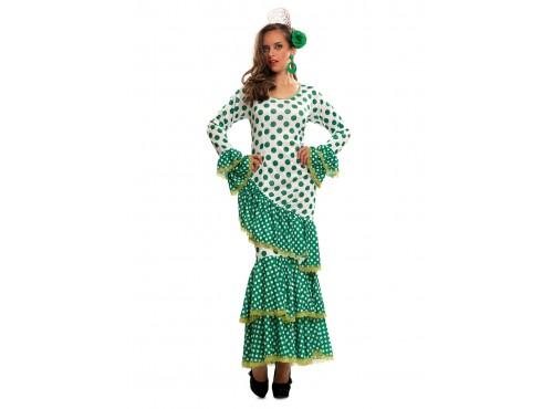 Disfraz de flamenca sevillana para mujer